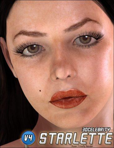 3D Celebrity Starlette
