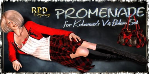 Promenade for V4 Bolero Set by kobamax