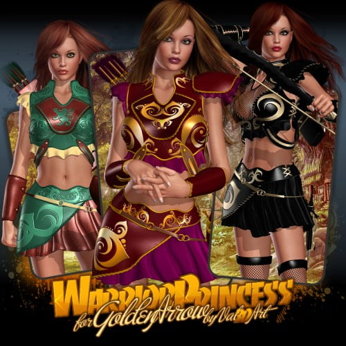 Warrior Princess for Golden Arrow