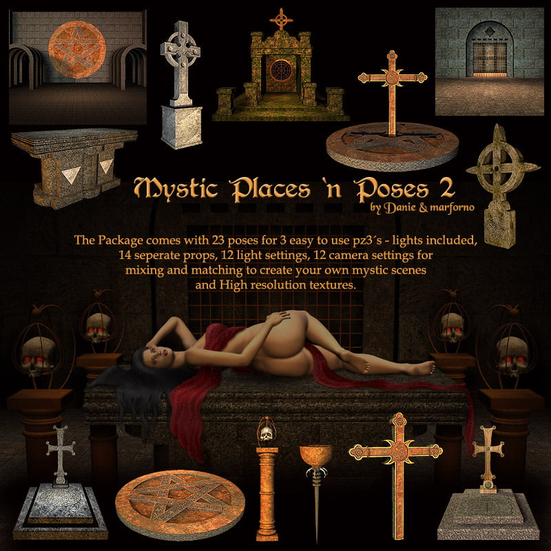 Mystic Places 'n Poses 2