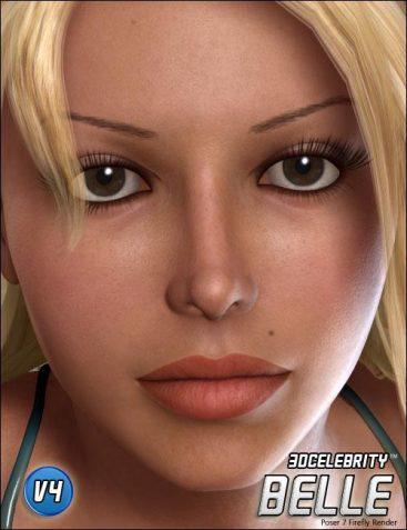 3D Celebrity Belle
