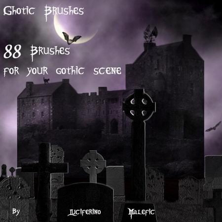 Gothic Brushes for PS7 by LM