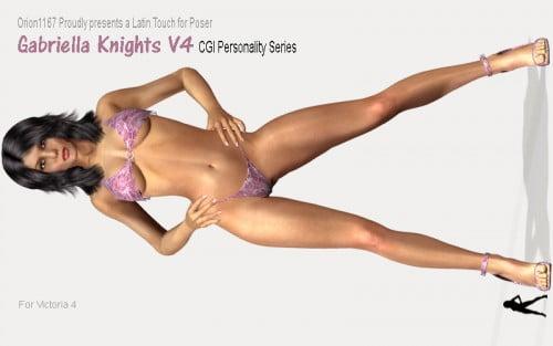 Gabriella Knights V4 CGI