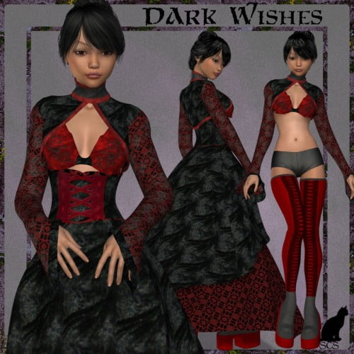 +Dark Wishes+ For Wistfully Yours