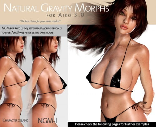 Natural Gravity Morphs for A3