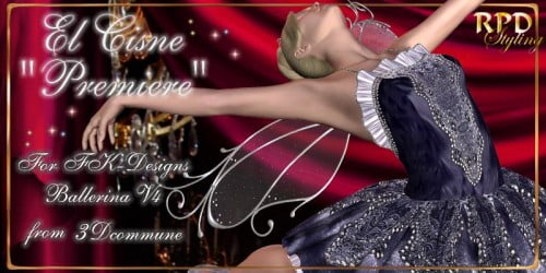 El-Cisne Premiere for FK-Designs' Ballerina-V4