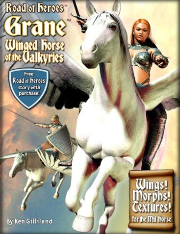 Grane the Winged Horse