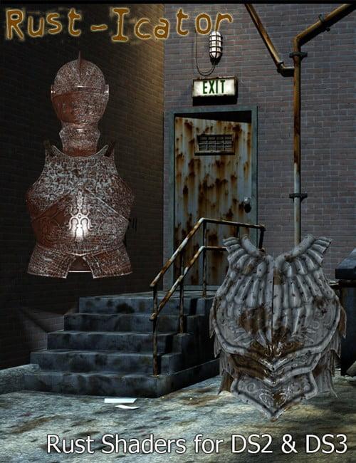 Rust Icator for DAZ Studio