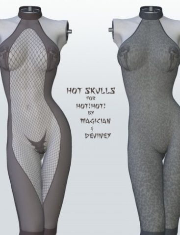 Hot Skulls for Hot!Hot!