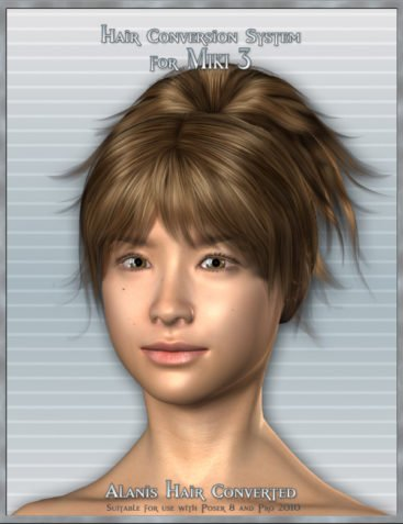 Hair Conversion System - Miki 3