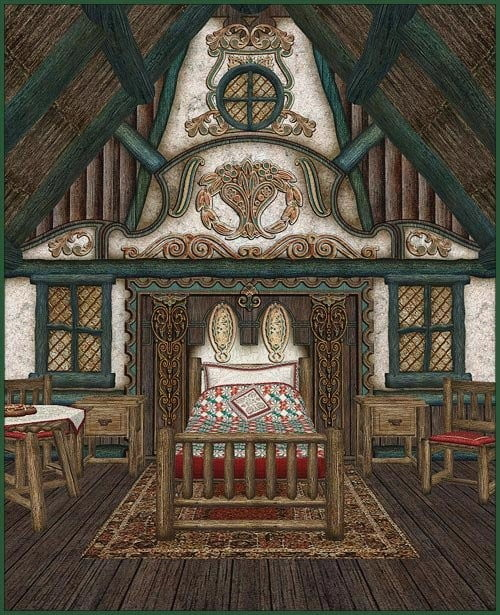 Fairytale Collection - Redhouse Cottage Interior