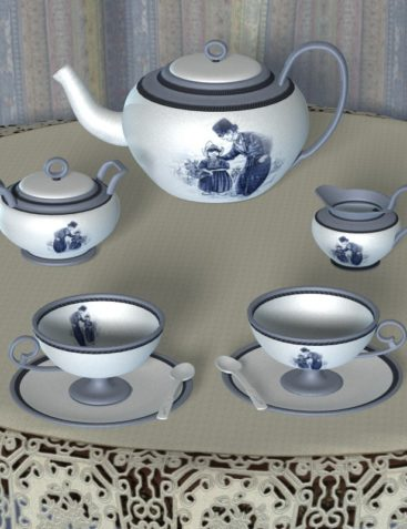 Collectibles: Tea Set Designs 1