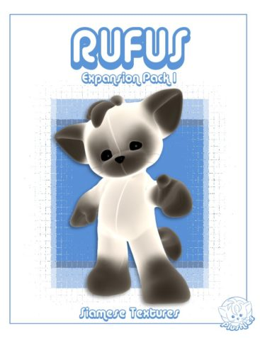 Plushies: Rufus Expansion Pack 1 - Siamese