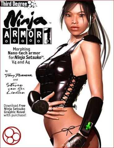 Ninja Armor 1 for Ninja Setsuko, V4 & A4