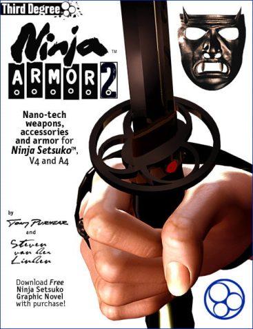 Ninja Armor 2 for Ninja Setsuko, V4 & A4