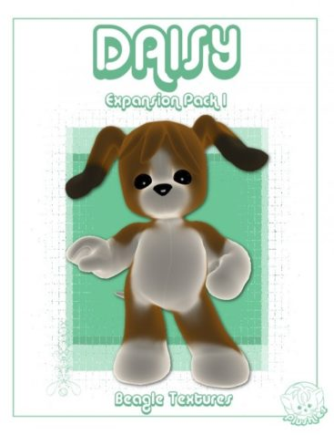 Plushies: Daisy Expansion Pack 1: Beagle Textures