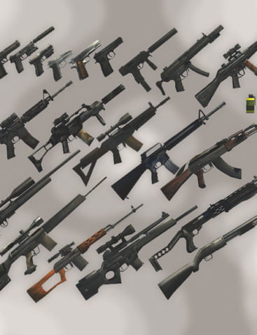 Modern Weapons Compilation 1