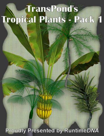 TransPond's Tropical Plant Mega-Pack