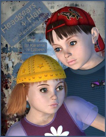 Headgears & Hair for Maddie & Matt