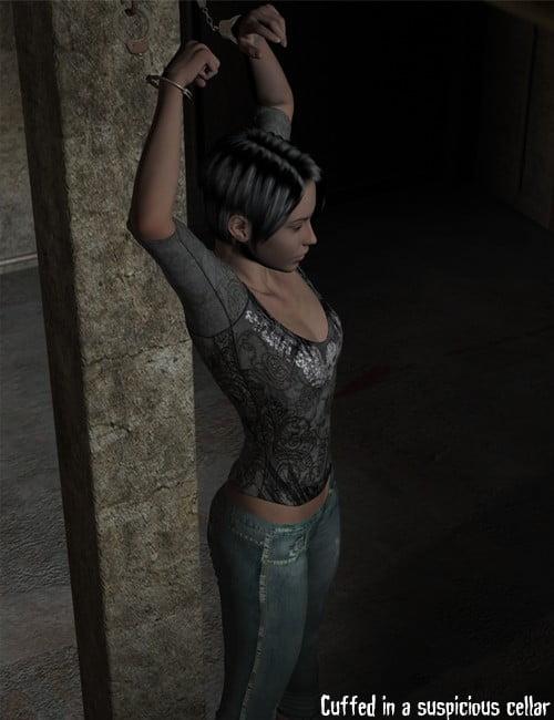 Cuffed (In A Suspicious Cellar)