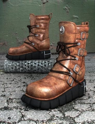 Sci-fi Boots for V4, V3, and A3