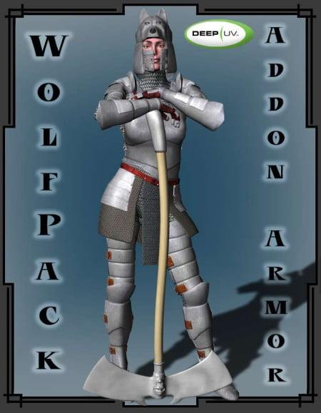 Wolf Pack for Fantasy V3 Armor