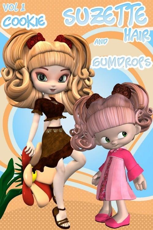Suzette Hair Vol1 - Cookie, GumDrops