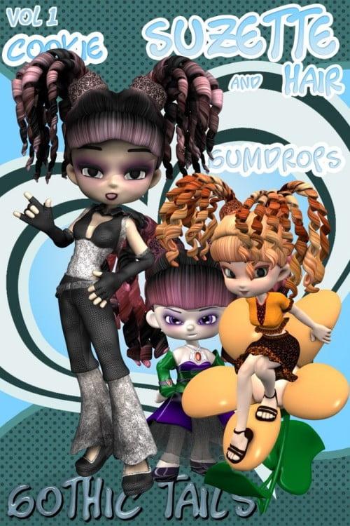 Gothic Tails - Cookie, GumDrops