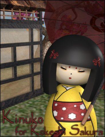 Kinuko for Kokeshi Sakura