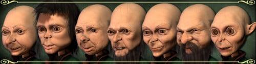 7 dwarfs for Gosha