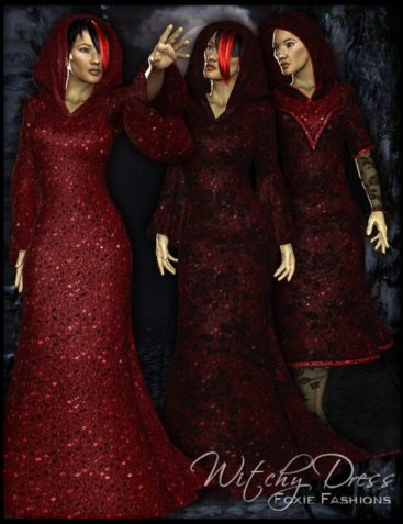 Foxie Fashions 1 for Witchy Dress