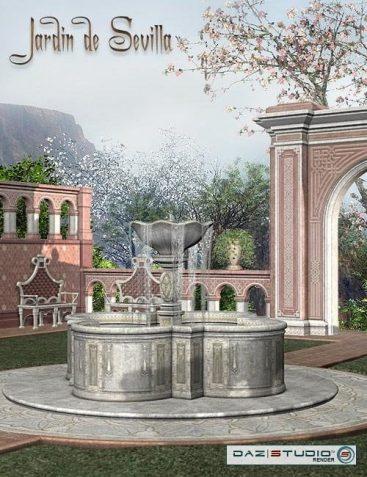 Spanish Rose -- Jardin de Sevilla