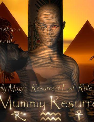 The Mummy Resurrected ~ For V3
