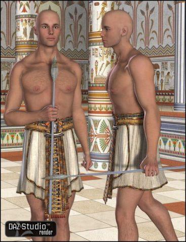 Egyptian Action for V3 Male