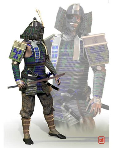 Samurai Yoroi for M3