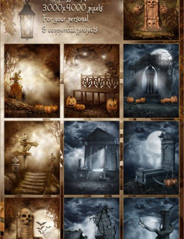 Wicked Halloween Backgrounds