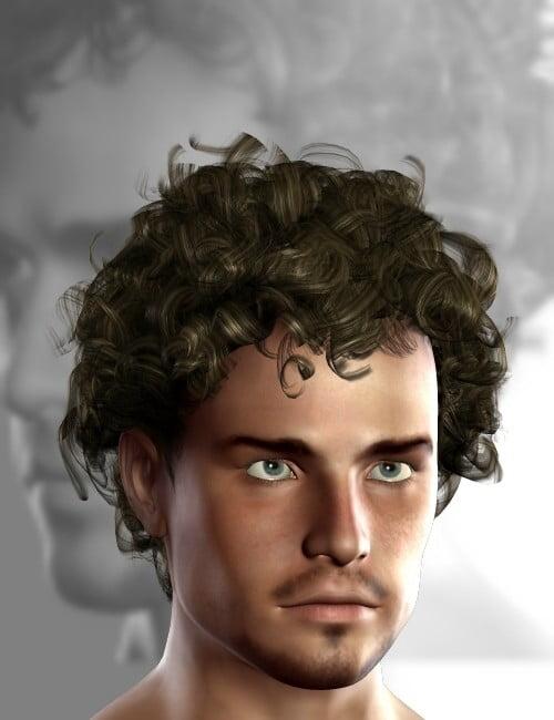 Digital Curlz Hairstyle