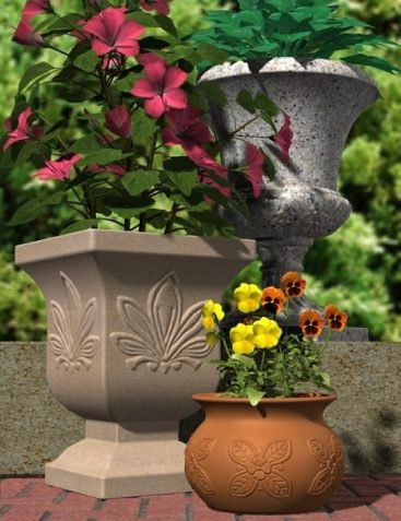 Get Potted! Plant Container Collection