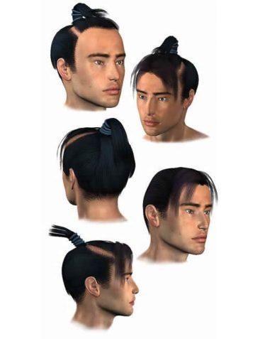 M3 Samurai Hair