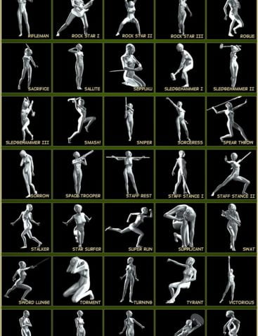 Exquisite Poses for V4/A4