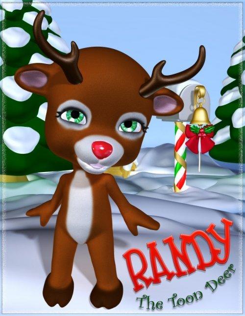 Randy-The Toon Deer