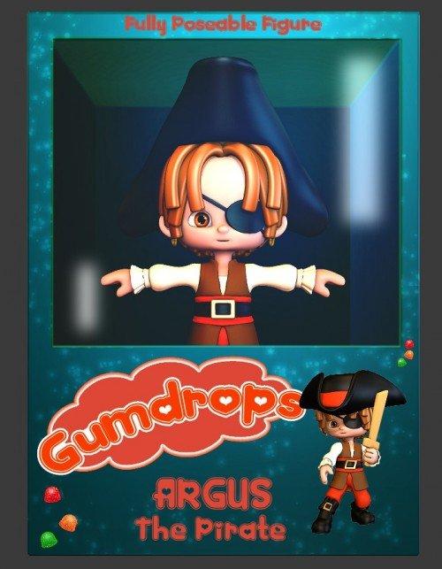 Gumdrops: Argus the Pirate