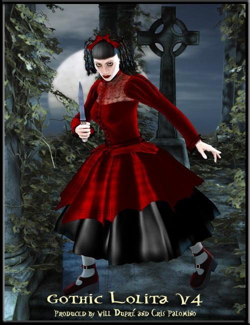 Gothic Lolita V4