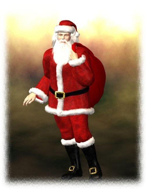 David Santa Suit