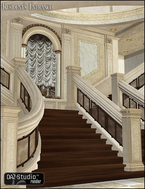 Residence Entry for Grand Staircase