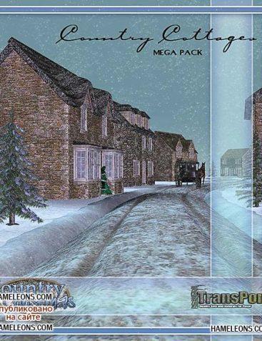 Country Cottage Construction Set - MegaPack