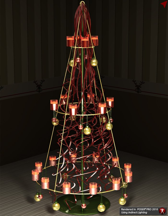 XMas Fever - New Styles 2 for Metal Cone Tree