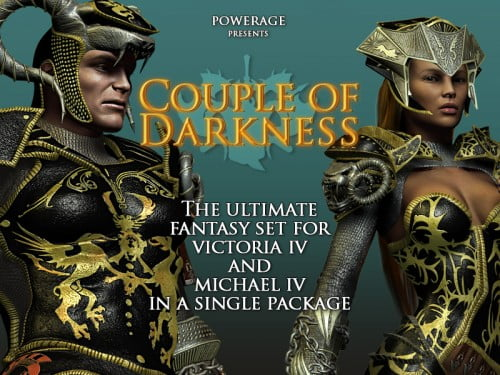 Couple Of Darkness for Victoria 4 & Michael 4