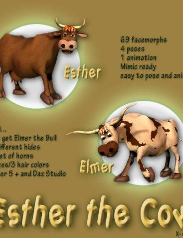 Esther the Cow - Elmer the Bull