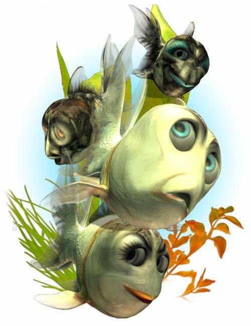Toonimal Goldfish Lurve Pack